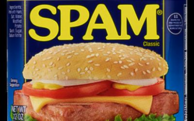 Por qué llamamos SPAM al correo basura?